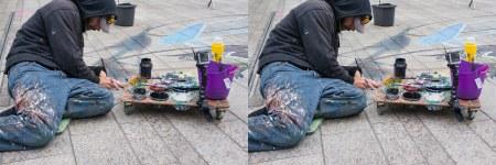 Streetpaint artist