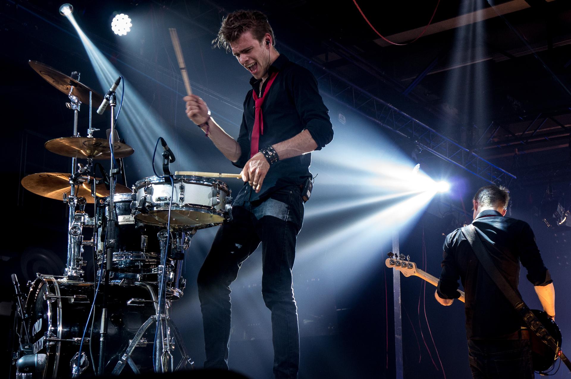 Drummer Boris Piscaer